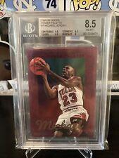 1996-96 Michael Jordan Hoops Power Palette #1 BGS 8.5 RARE Insert Bulls HOF