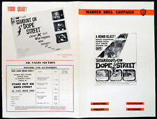 STAKEOUT ON DOPE STREET 1958 Yale Wexler, Jonathan Haze UK CAMPAIGN BOOK