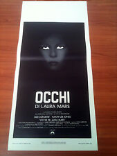 OCCHI DI LAURA MARS locandina poster Faye Dunaway Dourif Tommy Lee Jones AO80