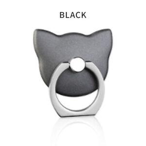 Tablet iPad Mobile phone Fix Bracket Mount Holder Metal Ring Hook Cat Shape