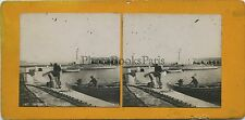 Antibes France Stereo argentique ca 1905