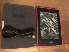 Amazon Kindle Paperwhite  (5th Generation) 2GB, Wi-Fi with Extras, Leather Case
