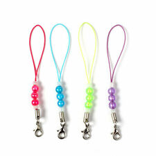 Lot Cell Phone Beads Lanyard Cord Strap Lariat Mobile Lobster Clasp DIY 20/50X