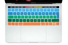 EU Spanish Keyboard Cover Silicone Skin For New Macbook Pro 13 15 With Touch Bar