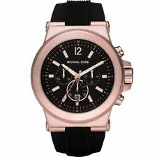 Michael Kors MK8184 Men's Classic Watch - Black/Rose Gold
