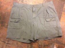 Cabela's Tan Beige 7-Pocket Cotton Hiker Cargo Shorts, Men's size 46 ~ 901860