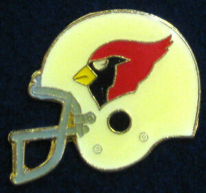 St Louis Cardinals VTG 1984 NFL Metal Enamel Helmet Pin for Hat/Jacket/Jersey AZ