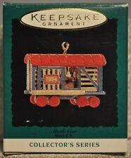 Hallmark - Stock Car - Noel R.R. - 6th in Series - Miniature Ornament