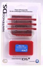 Nintendo DSi Clean & Protect Kit Includes 3 Replacement Stylus, Screen Protector
