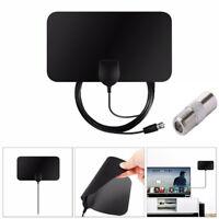 HDTV DVB-T2 Ultra-Thin Antenna Capture Antenna Signal Amplifier Indoor Antenna