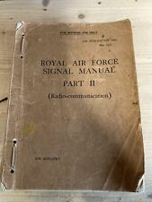 More details for royal airforce signal manual part 2 air publication 1093 1937 radio - b3