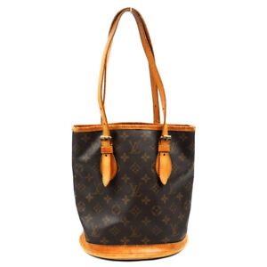 LOUIS VUITTON Bucket PM Monogram Tote Bag Shoulder Bag M42238