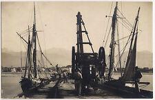 1925 - Forte dei Marmi - Ponte Caricatore in attività di lavoro