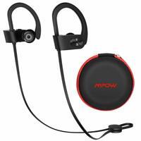 Mpow Waterproof Bluetooth Headphones Headset Wireless Earbud Bass HiFi Stereo