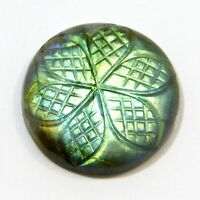 Natural Labradorite Carving Design Labradorite Gemstone Loose Labradorite NB=268
