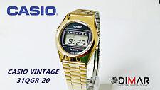 VINTAGE CASIO CASIOTRON 31QGR-20 QW.31 AÑO 1976 Ø.DE CAJA 34mm