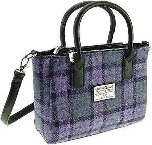 Ladies Authentic Harris Tweed Small Tote Bag Brora | LB1228 COL89