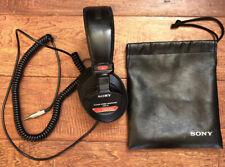 Sony MDR-V6 Over the Ear Dynamic Stereo Headphones - Black