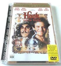 HOOK CAPITAN UNCINO COLLECTOR S EDITION SUPER JEWEL BOX FILM DVD OTTIMO ITALIANO
