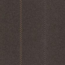 "3yd x 56"" MAYA ROMANOFF Blanket Zig Zag Embroidered Wool Wallcovering $900Retail"