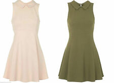 Topshop Collared Short/Mini Skater Dresses for Women