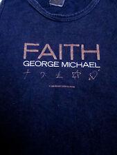 GEORGE MICHAEL Faith med juniors tank-top 1987 sleeveless I Want Your Sex OG