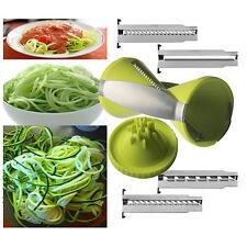 Spaghetti Vegetable Fruit Spiral Slicer Zucchini Julienne Cutter Peeler Grater