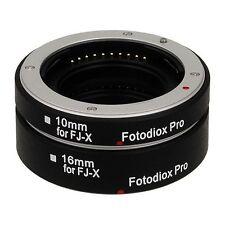 Fotodiox Obiettivo Adattatore Pro automatic macro kit for Fujifilm x fotocamera