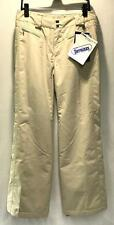 Nils Jean Women's Winter Snow Ski Sports Pants Tan Size 4 NEW