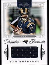 JC 2012 Panini National Treasures Franchise Favorites Materials #64 Sam Bradford