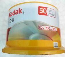Kodak CD-R 50 Pack 52x 700mb 80min Disks Blank Media