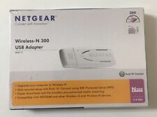 Netgear Wireless-N 300 USB Adapter WN111-1VCNAS NIB - BRAND NEW & FACTORY SEALED