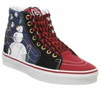 Womens Vans Sk8 Hi Trainers Christmastown Nightmare Trainers Shoes
