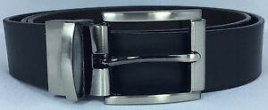 Men's Double Side Buckle Leather Belt UPS1659