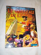"""BD """"BARBE-ROUGE. LE VAISSEAU DE L ENFER"""" HUBINON & CHARLIER (1974) ED. ORIGINALE"""