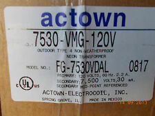 Actown 7530-VMG-120 VOLT Transformer. NEW IN BOX! electric Sign Repair PARTS