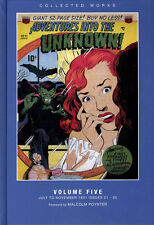 Adventures into the Unknown Vol 5 ACG Golden Age Sci-Fi HC 2013 PS ArtBooks