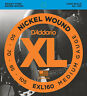 D'ADDARIO EXL160 NICKEL  WOUND BASS STRINGS, MEDIUM GAUGE 4's -  50-105