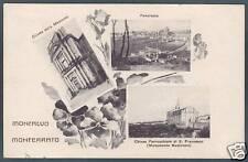 ASTI MONCALVO 07 VEDUTINE Cartolina viaggiata 1949
