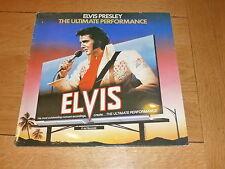 ELVIS PRESLEY - The Ultimate Performance - 1981 UK 17-track vinyl LP