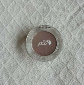 100% PURE 100 PERCENT Pressed Eyeshadow HAZELNUT Light Smoked Mauve New £19