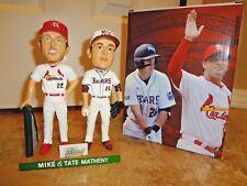 St Louis Cardinals Mike & Tate Matheny Bobblehead Spfld MSU Red Sox SGA 7-7-18