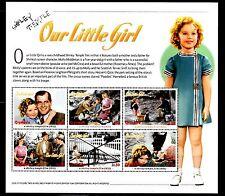 SELLOS TEMA CINE. GRENADA 2002 SHIRLEY TEMPLE OUR LITTLE GIRL  6v Mini Hoja