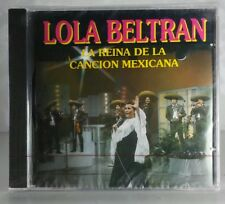 Lola Beltran La Reina de La Cancion Mexicana CD New Nuevo sealed