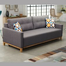 SOFA BED Abra BRAND NEW LOVE SEAT SETTEE SLEEPING FUNCTION SEATER COUCH STORAGE