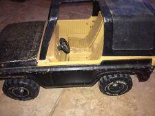 Vintage Pressed Steel Tonka MR-970 Jeep Bronco Tires Come Off Very Cool