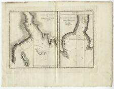Sketch of Port Palliser (..) - Cook (c.1781)