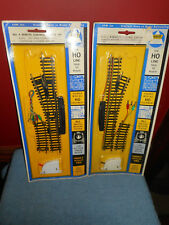 AHM Ho Remote Control Switch #4 RIGHT HAND 2501 & LEFT HAND 2502 Complete NOS