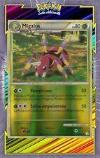Migalos Reverse - HS01:HeartGold SoulSilver-15/123-Carte Pokemon Neuve Française