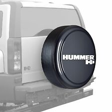 "32"" Hummer H3 Logo - Rigid Tire Cover - Painted - Graphite"